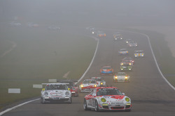#101 GetSpeed Performance 保时捷 911 GT3 Cup: 斯蒂夫·扬斯, 克里斯托弗·米斯, 亚当·奥斯耶卡