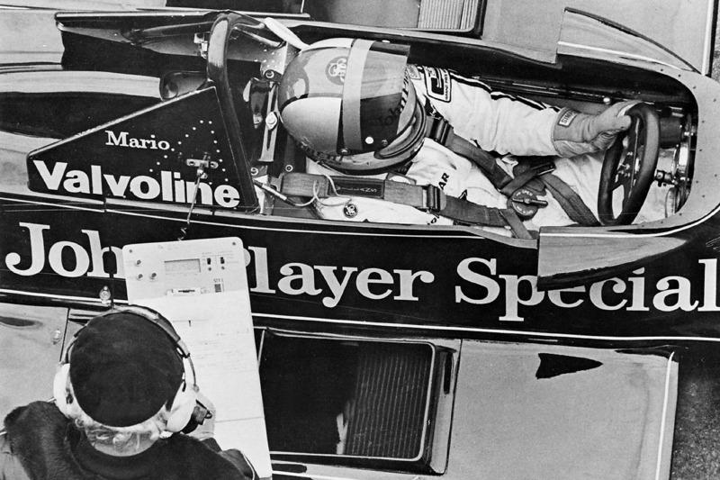 Mario Andretti et Colin Chapman