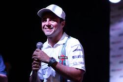 Felipe Massa, de Williams en el Foro de Aficionados