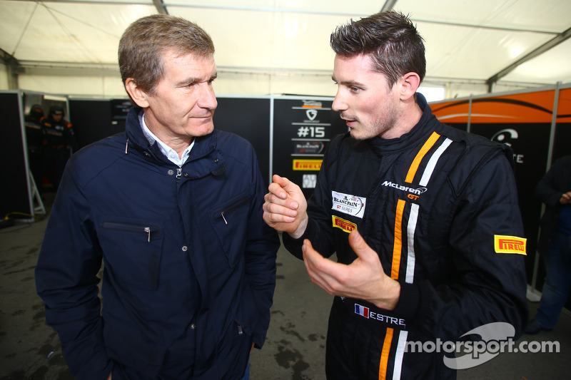 Thierry Boutsen y Kevin Estre