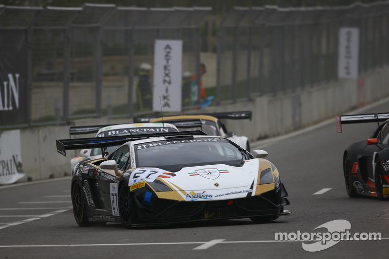 #27 Grasser Racing Team Lamborghini LFII: Tomas Pivoda, Stefan Landmann