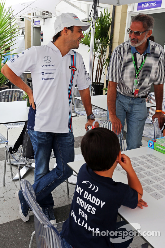 Felipe Massa, Williams com Felipinho Massa (BRA)