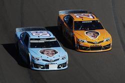 J.J. Yeley, BK Racing Toyota e Alex Bowman, BK corsa Toyota