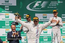 Felipe Massa fête sa troisième place sur le podium