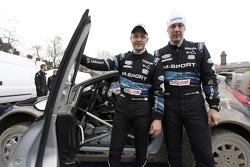 Mikko Hirvonen and Jarmo Lehtinen, M-Sport Ford