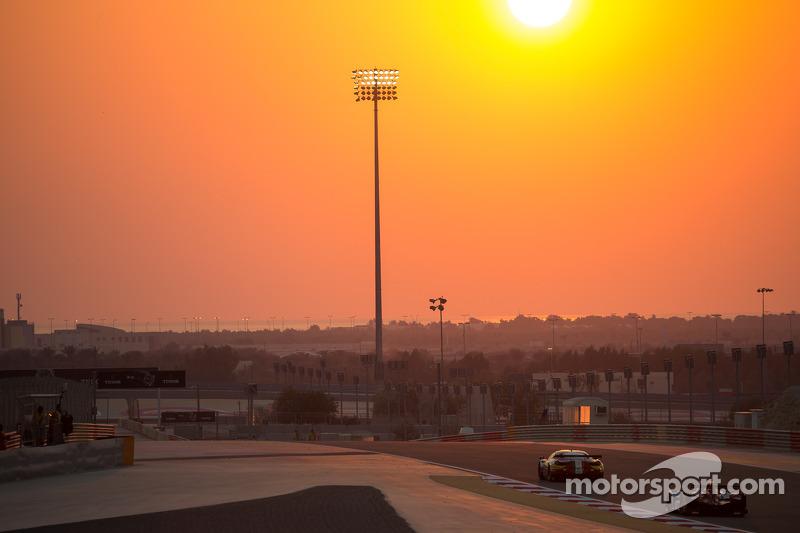 Tramonto sul Circuito Internazionale del Bahrain