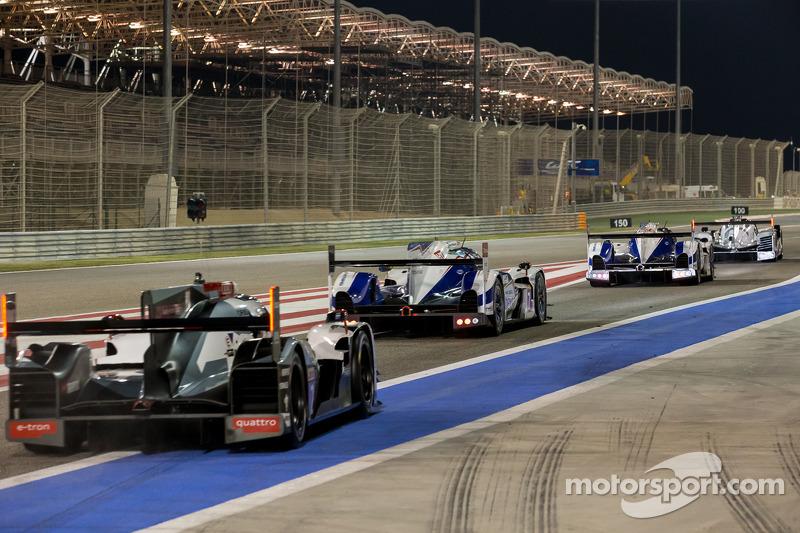 LMP, los autos salen de los pits para la clasificación