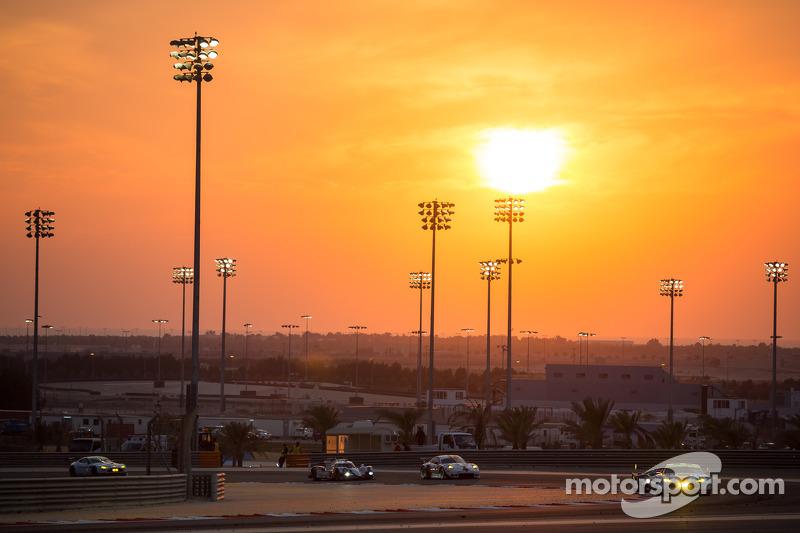 atardecer en Bahrain