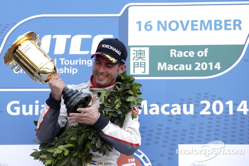 El ganador  Jose Maria Lopez, Citroën C-Ely see WTCC, Citroën Total WTCC
