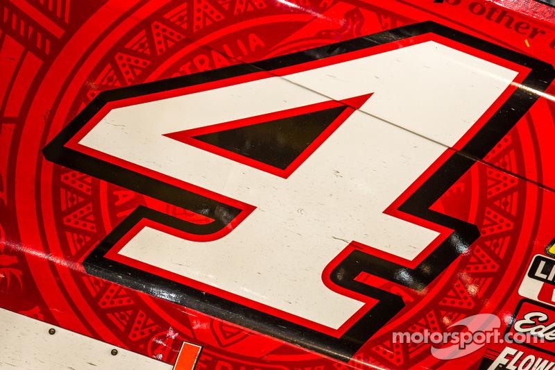 Detalles del coche campeón de Stewart-Haas Racing Chevrolet de Kevin Harvick