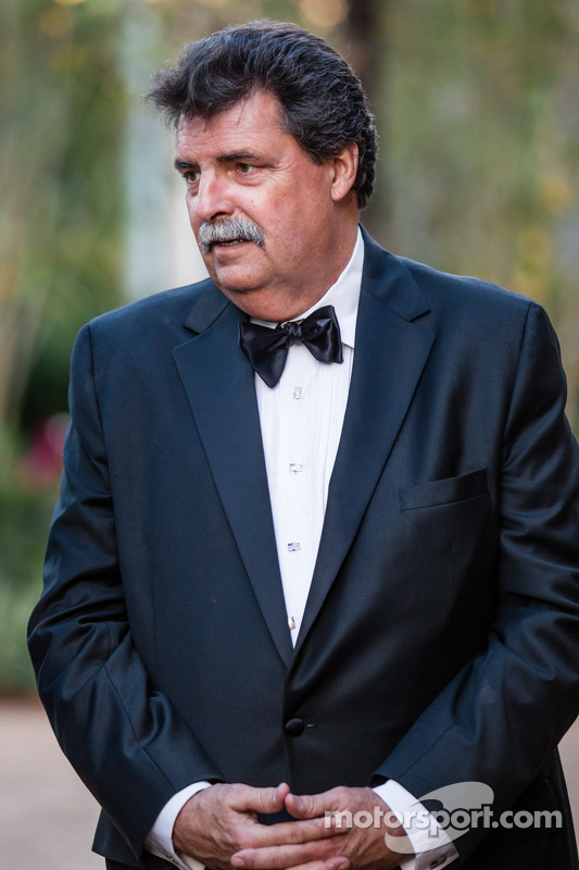 Presidente da NASCAR, Mike Helton