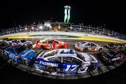 Ricky Stenhouse Jr., Roush Fenway 福特车队, Dale Earnhardt Jr., Hendrick 雪佛兰车队, Justin Allgaier,菲尼克斯雪佛兰车队