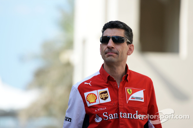 Andrea Stella, ingeniero de carrera de Ferrari