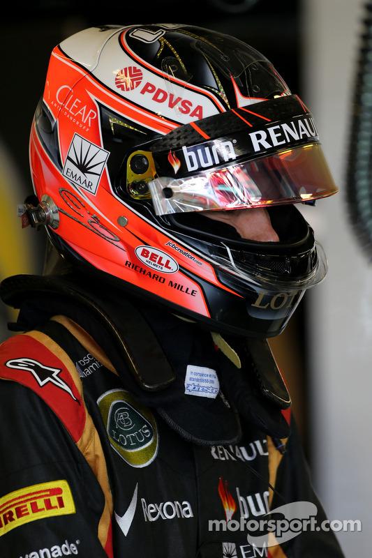 Esteban Ocon, Lotus F1 Team, Testfahrer