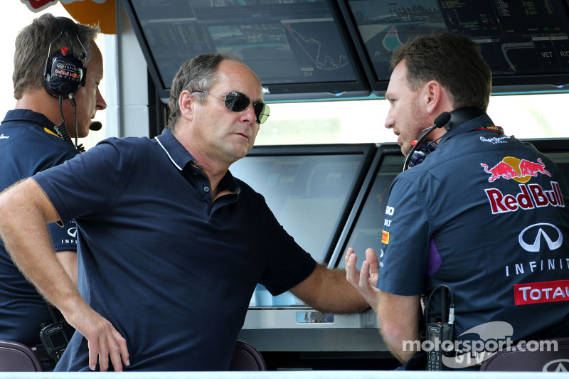 Gerhard Berger, Red Bull Racing, Sportif Direktör