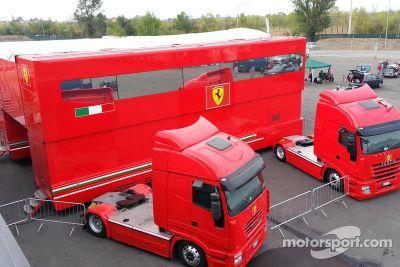 Ferrari Selling Transport Trailer