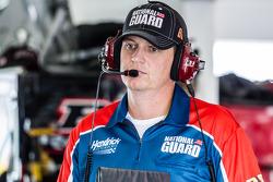 Steve Letarte, crew chief for Dale Earnhardt Jr., Hendrick Motorsports Chevrolet