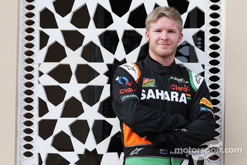 Spike Goddard, Sahara Force India F1 VJM07, collaudatore