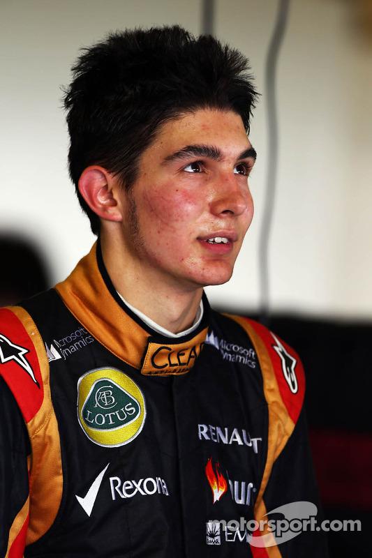 Esteban Ocon, Lotus F1 Takımı Test Pilotu