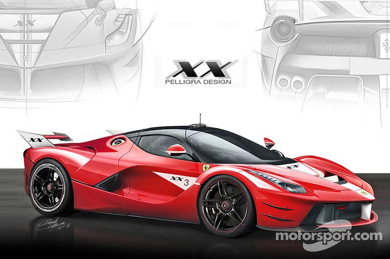 Ferrari LaFerrari XX design concept