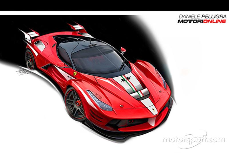 Ferrari design concepts