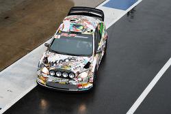 马可·博纳诺米和比亚乔·马连蒂,福特嘉年华WRC