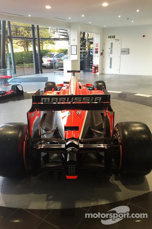 Carros da Marussia e equipamentos para o leilão