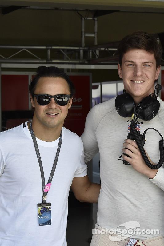 Felipe Massa e James Calado