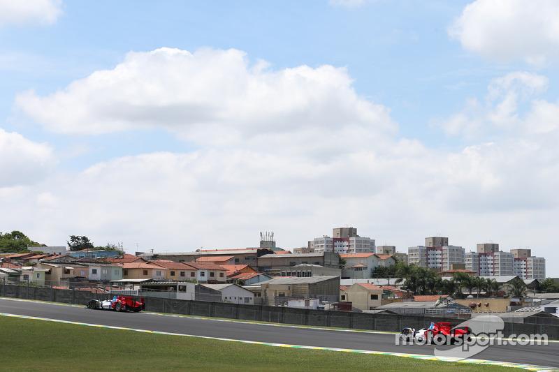 #37 SMP Racing Oreca 03 - 日产: 基里尔·拉德金, 维克托·沙伊塔, 安通·拉德金, #27 SMP Racing Oreca 03 - 日产: 谢尔盖·兹洛宾, 尼古拉·米纳西安, 毛里奇奥·梅迪安尼