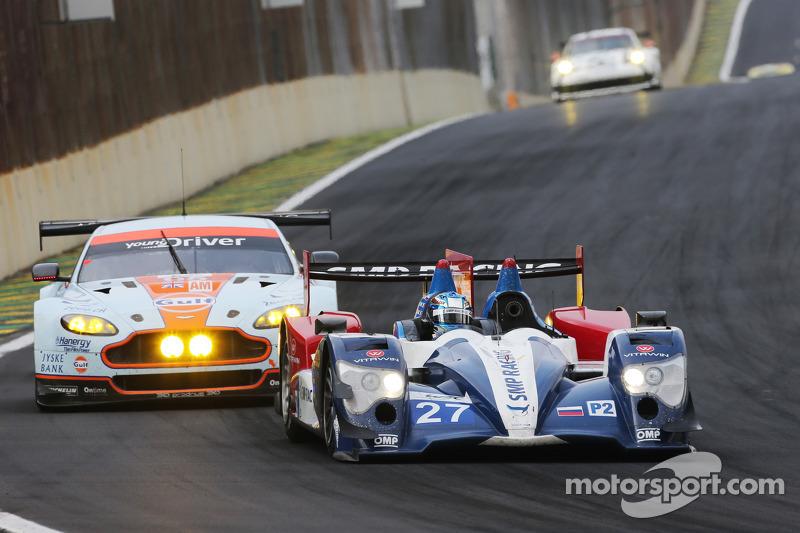 #27 SMP Racing Oreca 03 - Nissan: Serguey Zlobin, Nicolas Minassian, Maurizio Mediani
