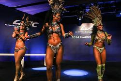 Encantador el entretenimiento brasileño