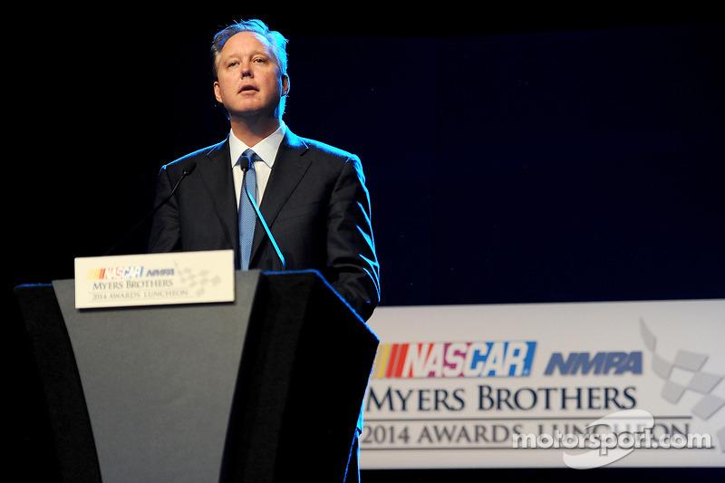 Brian France, director ejecutivo de NASCAR