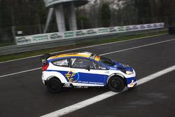 Mario Cordoni ve Gilberto Calleri, Ford Fiesta WRC