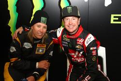 Kurt Busch e Rihanon Gelsomino, Ford Fiesta WRC