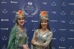 Entretenimiento en la Gala de la FIA 2014