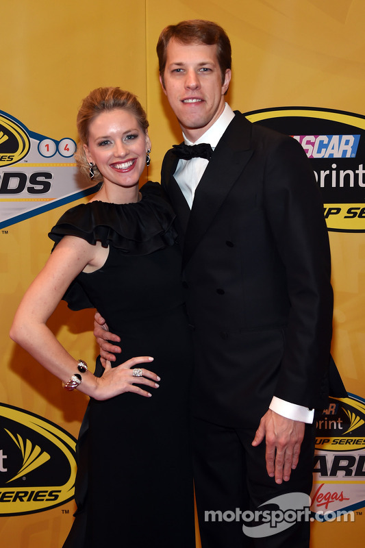 Brad Keselowski e sua namorada Paige White