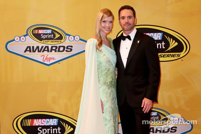 Jimmie Johnson e sua moglie Chandra