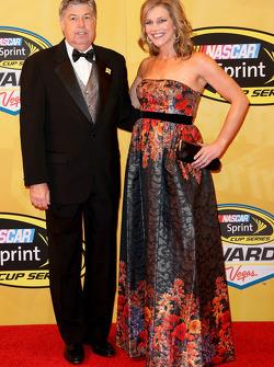 Mike Joy y Krista Voda