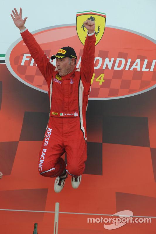 World Finals Coppa Shell pódio: vencedor Massimiliano Bianchi