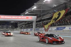 Ferrari FXX K et d'autres FXX
