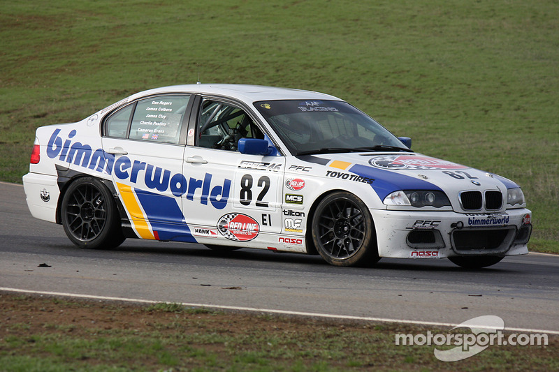 #82 BimmerWorld BMW 330i: Cameron Evans, Charles Postins, Dan Rogers, James Clay, James Colborn
