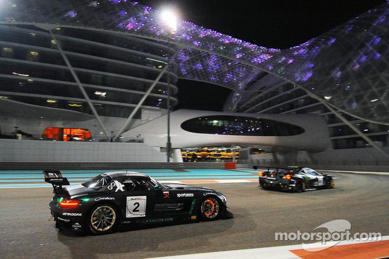 #2 Black Falcon Mercedes SLS AMG GT3: Abdulaziz Al Faisal, Hubert Haupt, Richard Muscat