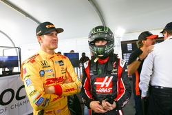 Ryan Hunter-Reay e Kurt Busch