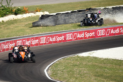 David Coulthard fliegt ab und Tom Kristensen siegt