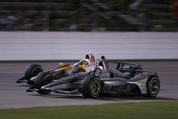 Джозеф Ньюгарден, Team Penske Chevrolet, и Габби Чавес, Harding Racing Chevrolet