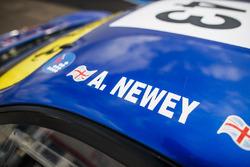 #43 AF Corse Ferrari 430 GT Berlinetta: Adrian Newey
