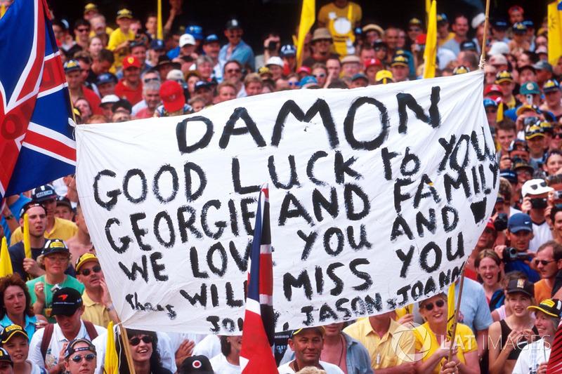 Tifosi di Damon Hill, Jordan