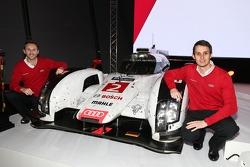 René Rast e Oliver Jarvis, piloti dell'Audi R18 LMP1