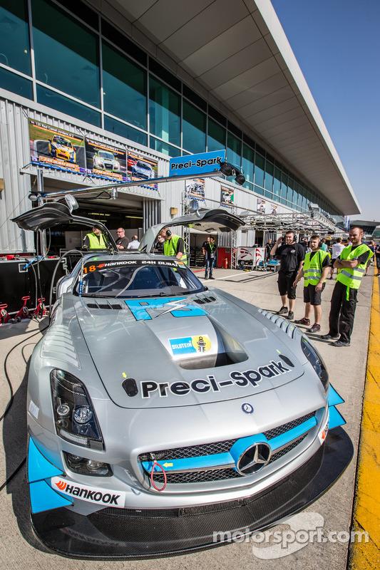 #18 Preci - Spark, Mercedes SLS AMG GT3