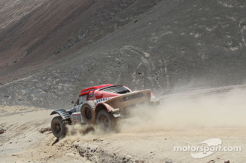 #333 Buggy MD Rallye: Pierre Lachaume, Jean Brucy